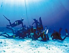 Anba Dlola snorkeling Guadeloupe