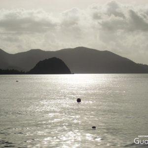 Couché de soleil les Saintes Guadeloupe