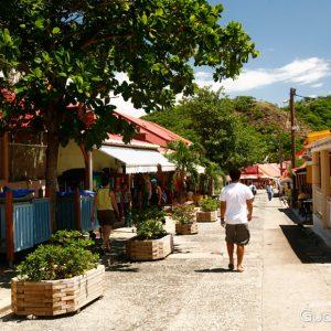 Le bourg de Terre-de-Haut Guadeloupe