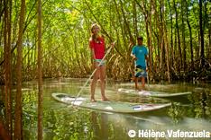 Magazine Destination Guadeloupe, balade en paddle