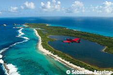La Guadeloupe vue du ciel avec ULM Caraïbes