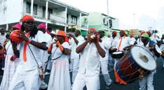 Les Mas, carnaval Guadeloupe