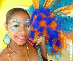 Maquillage carnaval Guadeloupe