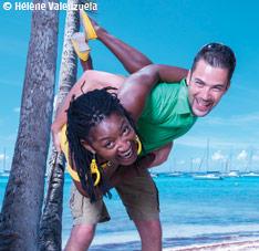 Domino, humour Guadeloupe
