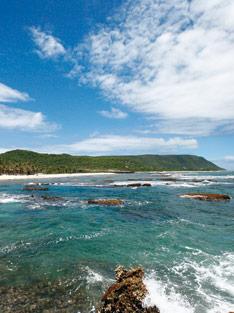 Désirade, île de Guadeloupe