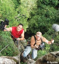 Guyane tournage