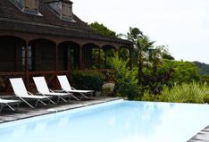 Jardin Malanga hébergement Guadeloupe