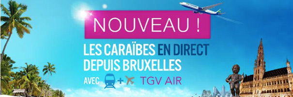 TGV Air Belgique Air Caraïbes