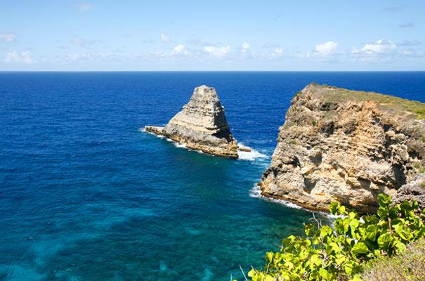 Le sentier des pêcheurs Nord Grande-Terre Guadeloupe