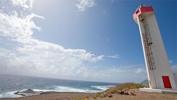 Le phare de la Pointe Doublé, Désirade