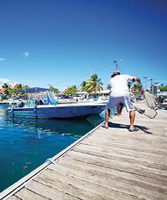 Port de pêche de Saint-François guadeloupe