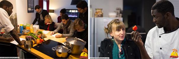 Leriche de saveurs, ateliers culinaires