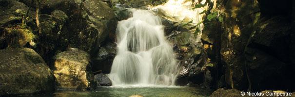 Chute de la rivière Caillou