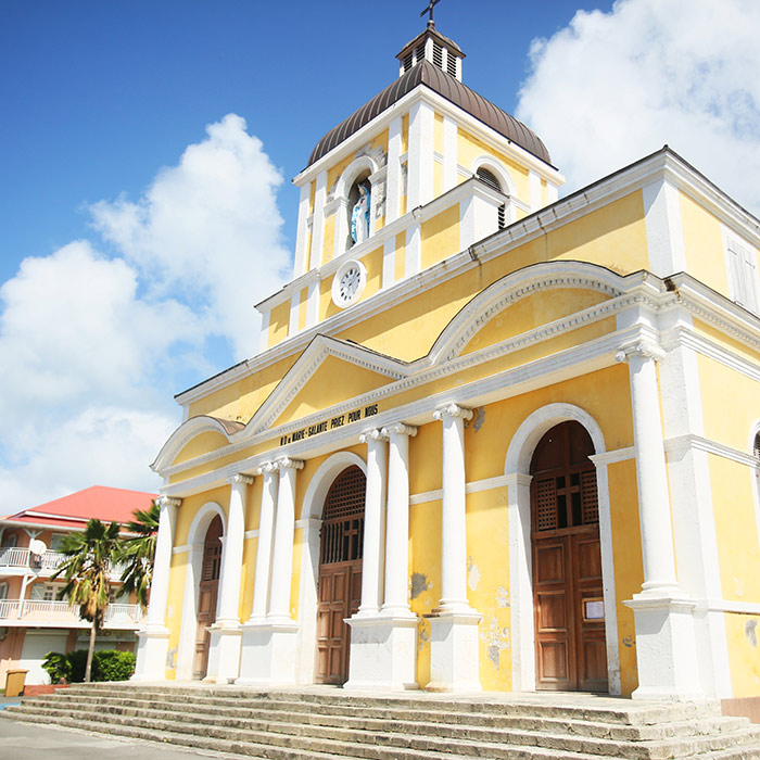 marie-galante église guadeloupe